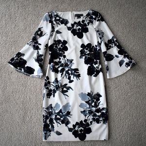 Jessica Howard Macy's Bell Sleeve Floral Dress